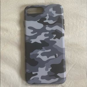 iPhone 7 plus used Velvet Caviar camo case